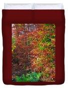 Colors Of Fall 4 Duvet Cover