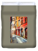 Colors Of Lyon 3 Duvet Cover