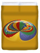 Colors Of Motion Duvet Cover