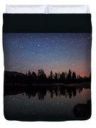 Colors Of Night Duvet Cover
