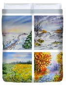 Colors Of Russia Four Seasons Duvet Cover