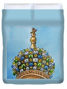 Colors Of Russia St Petersburg Cathedral IIi Duvet Cover by Irina Sztukowski