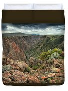 Colors Of The Black Canyon Duvet Cover