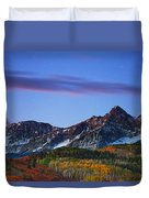 Colors Of The Night Duvet Cover