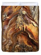 Colors Of The Ohio Caverns Duvet Cover