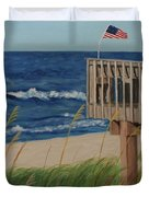 Colors On The Breeze Duvet Cover