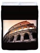 Colosseum Italy Duvet Cover