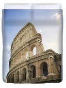 Colosseum Rome, Italy Duvet Cover by Allyson Scott
