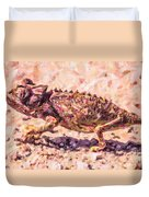 Colourful Chameleon Duvet Cover