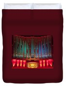Colourful Organ Duvet Cover