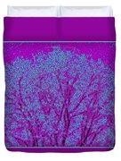 Colourful Silhouette Duvet Cover