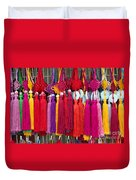 Colourful Souvenirs In China Duvet Cover