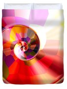 Colourful Tiled Spiral Duvet Cover