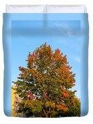 Colours Of Autumn Duvet Cover