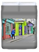 Colours Of Brighton Duvet Cover