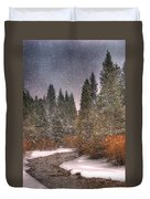 Colours Of Winter Duvet Cover by Juli Scalzi