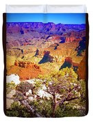 Colours Within The Canyon Duvet Cover by Tara Turner