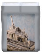 Columbia Courthouse On A Clear Day Duvet Cover