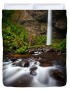 Columbia Gorge Richness Duvet Cover
