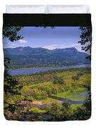 Columbia River Gorge - Oregon Duvet Cover