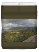 Columbia River Gorge View From Crown Point Duvet Cover
