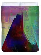 Columbia Tower Cubed 1 Duvet Cover