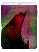 Columbia Tower Cubed 3 Duvet Cover