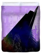 Columbia Tower Cubed 4 Duvet Cover