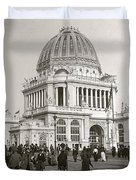 Columbian Exposition Chocolat 1893 Duvet Cover