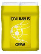 Columbus Crew Goal Duvet Cover