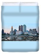 Columbus Panorama Duvet Cover