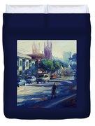 Columbus Street Duvet Cover