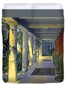 Columns And Chairs Duvet Cover