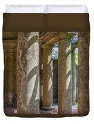 Columns At Cranes Duvet Cover