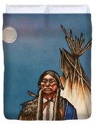 Comanche Moon Duvet Cover