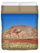 Comb Ridge Utah Near Mexican Hat Duvet Cover by Christine Till