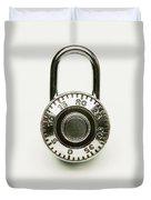 Combination Lock Duvet Cover