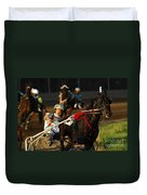 Horse Racing Come On Number 6 Duvet Cover