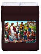 Come Unto Me Duvet Cover