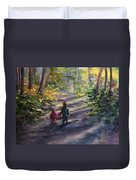 Come With Me Duvet Cover