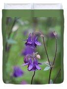 Comfort In Purple Duvet Cover
