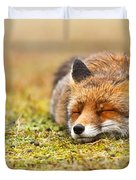 Comfortably Fox Duvet Cover
