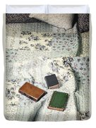 Comfy Reading Time Duvet Cover by Joana Kruse