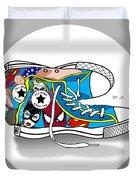 Comics Shoes 2 Duvet Cover