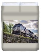 Coming Down The Tracks Duvet Cover