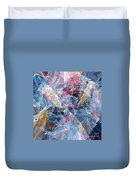 Coming Forth Duvet Cover
