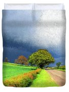 Coming This Way Duvet Cover