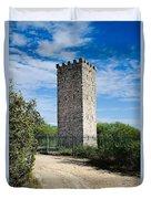 Commanche Park Tower Duvet Cover