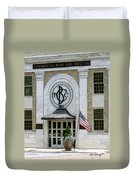 Commercial Bank And Trust Duvet Cover
