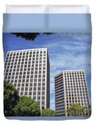 Commercial Office Building Duvet Cover
